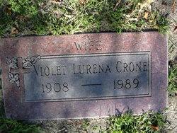 "Violet Lurena ""Lurena"" <I>Lozo</I> Crone"