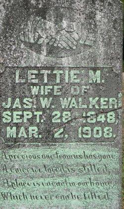 Lettie M. <I>Bynum</I> Walker