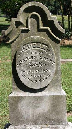 """Susannah """"Susan"""" <I>Burritt</I> Adams"""