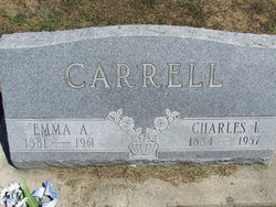 Emma A. <I>Perring</I> Carrell
