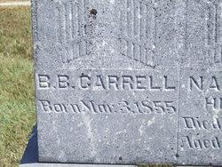 Benjamin B Carrell