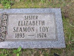 Elizabeth <I>Seamon</I> Foy