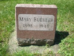 Mary <I>Schwemm</I> Buehler