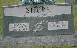 Alice <I>Garland</I> Shupe