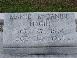 Mamie <I>McDaniel</I> Hagin
