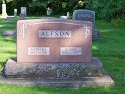 Mathilde <I>Hallum</I> Alfson