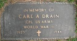Corp Carl A Drain