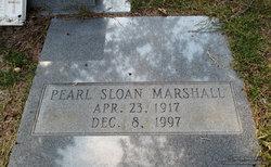 Pearl <I>Sloan</I> Marshall