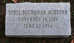 Ethel Buchanan Acheson