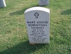 Mary Louise <I>Robertson</I> Lindley