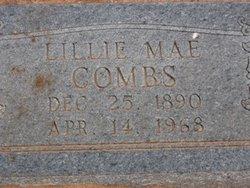 Lillie Mae <I>Kindrick</I> Combs