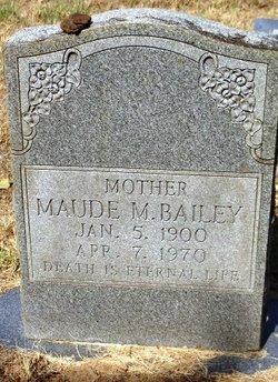 Maude Mae <I>Parsons</I> Bailey