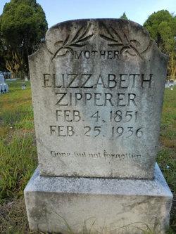 Elizabeth <I>Barton</I> Zipperer
