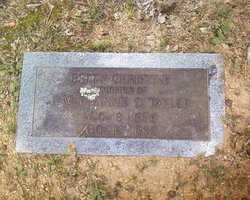 Betty Christine Taylor