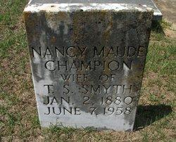 Nancy Maude Champion