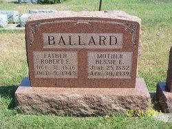 """Myrtle Elizabeth """"Bessie"""" <I>Chaplin</I> Ballard"""