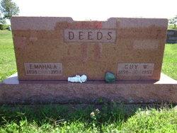 Mahala Emma <I>Clingaman</I> Deeds