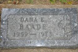 Dana E. Baade