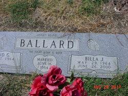 Billa J <I>Henry</I> Ballard