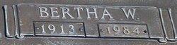 Bertha <I>Williamson</I> Avants