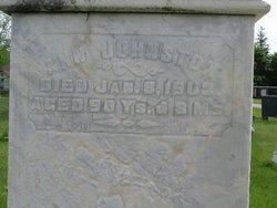 Ann <I>Thompson</I> Johnston