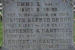 Florence A <I>Grubb</I> Cantwell