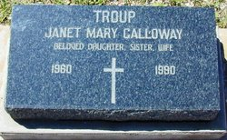 Janet Mary <I>Galloway</I> Troup