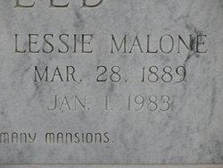 Lessie <I>Malone</I> Edenfield