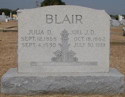 "Joel Dyer ""J.D."" Blair, Jr"