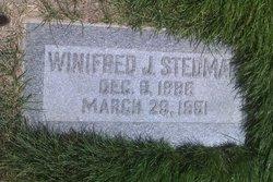 Winifred <I>Jensen</I> Stedman