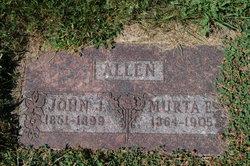 Murta Endora <I>Galloway</I> Allen