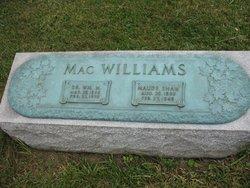 Maude <I>Shaw</I> MacWilliams