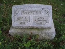 Mary <I>Dunn</I> Bamford