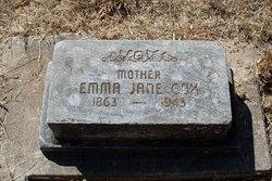 Emma Jane <I>Gerking</I> Cox
