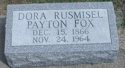 Dora P. <I>Rusmisel</I> Fox