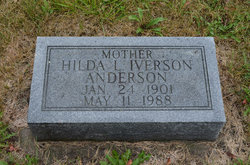 Hilda Louise <I>Henrickson</I> Anderson Iverson