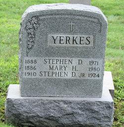 Stephen Douglas Yerkes, Jr
