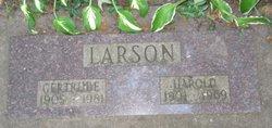Gertrude <I>Anderson</I> Larson