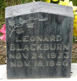 Leonard Blackburn