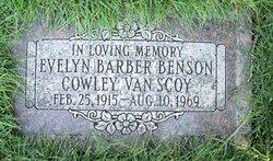 Evelyn Barber <I>Benson</I> Van Scoy