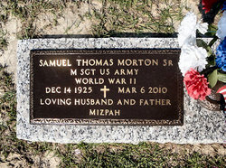 "Samuel Thomas ""Tom"" Morton, Sr"