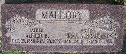 Erma A. <I>Hoagland</I> Mallory