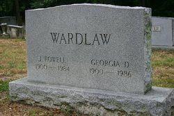 Georgia <I>Dickinson</I> Wardlaw