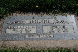 Martha Ann <I>Bingham</I> Seguine