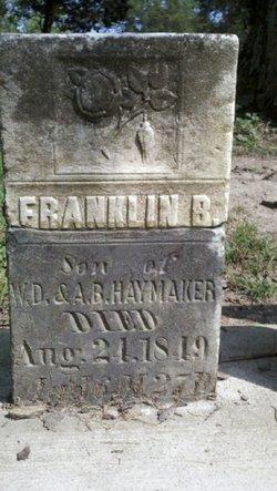 Franklin B Haymaker