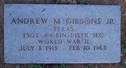 Andrew M Gibbons, Jr
