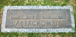 Dorothy Antoinette <I>Dick</I> Abercrombie
