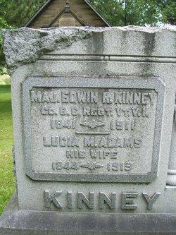 Lucia M. <I>Adams</I> Kinney