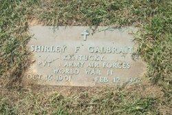 Shirley F Galbraith