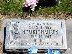 Glen Henry Homrighausen